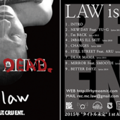 LAW is DEAD CD JACKET DESIGN